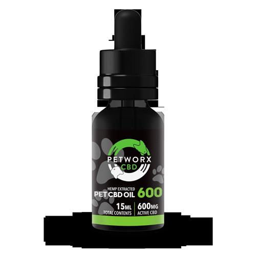 600 mg PET CBD OIL - Pet Hemp Oil - CBD For Pets