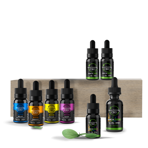 CBD oil group photo