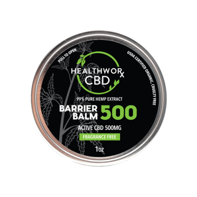 CBD Skin Care - CBD Barrier Balm - Active CBD 500mg