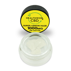SUPER LEMON HAZE CBD SHATTER - CBD Shatter With Terps - Hemp CBD Isolate - CBD Hemp Isolate