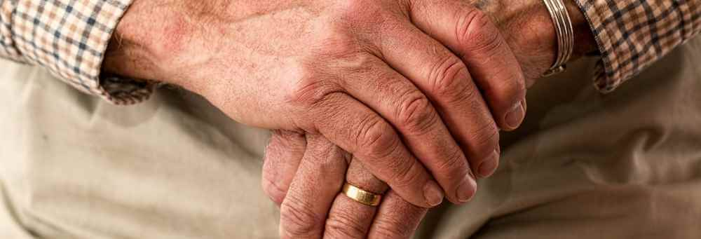 Senior man hands - CBD Effects: What Can CBD Do for the Elderly?