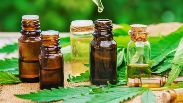 CBD oils natural organic substances